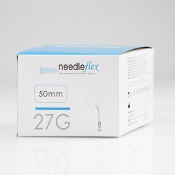 Needleflex, 100 flexible cannula with the blunt tip